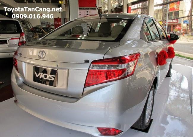 toyota vios 1 5 e toyota tan cang 12 -  - Giá xe Toyota Vios 1.5E khuyến mãi tốt nhất Tp. Hồ Chí Minh