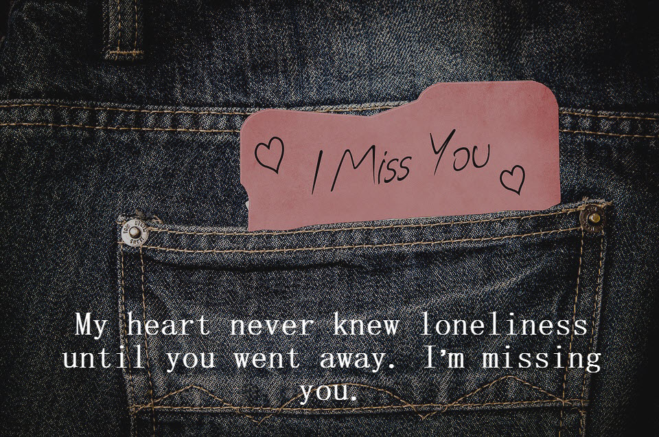 Best Heart Touching Missing You | I Miss You Quotes & Messages for