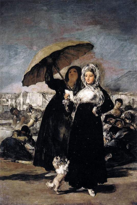 Francisco Josе de Goya Молодая женщина с письмом