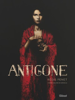 Antigone-Sophocle-Régis-Penet-BD-bande-dessinée-illustrateur-philosophe-auteur-dessinateur-récit