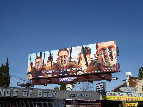 Mad Max Fury Road iTunes billboard