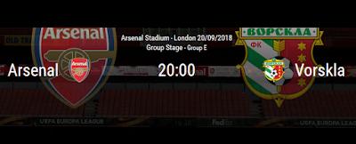 Arsenal v FC Vorskla Poltava