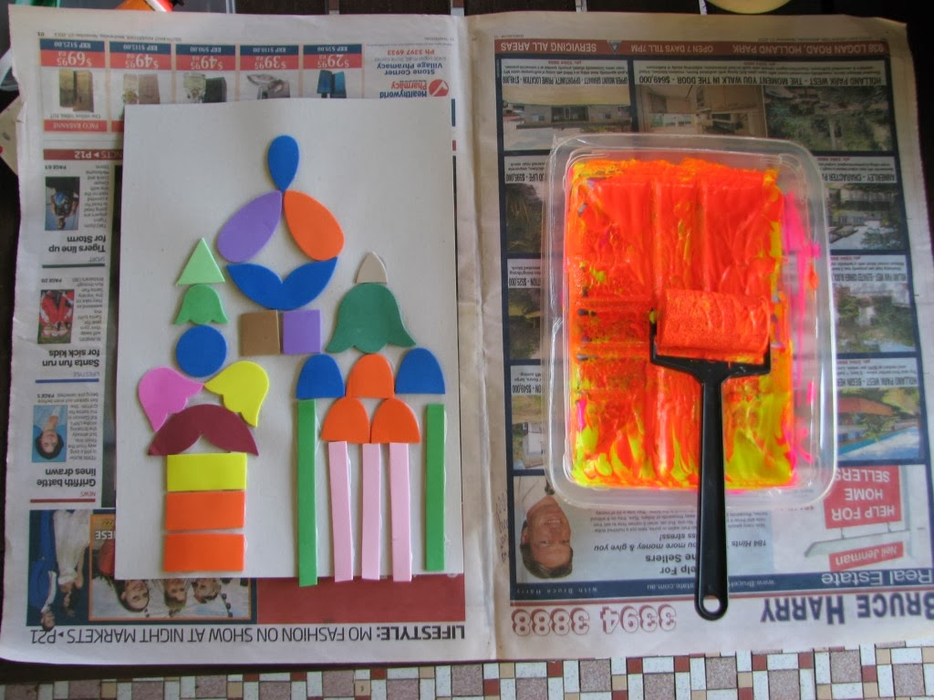 Arty Crafty Studio Collagraph Printmaking