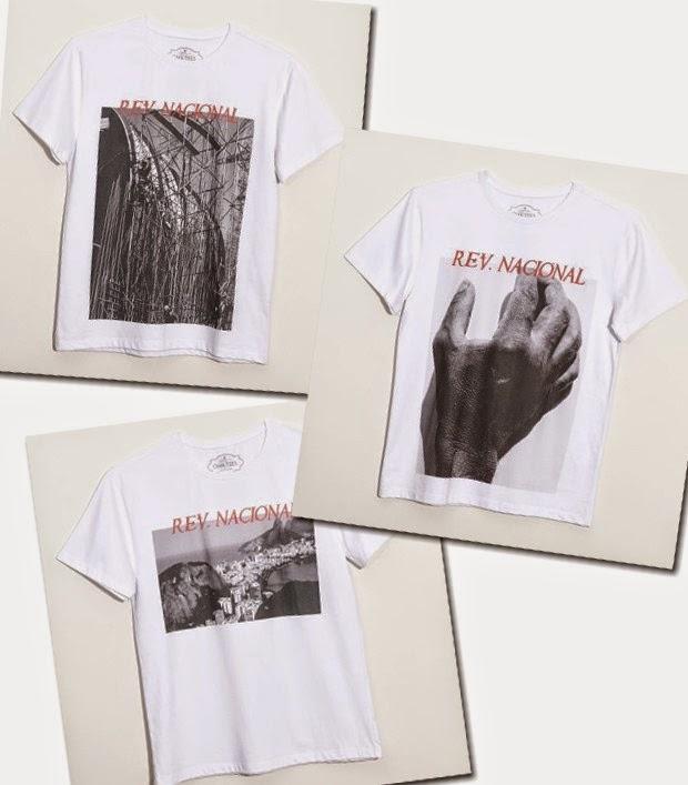 b8f0f31d0a A famosa marca de camiseta OMA TEES fechou parceria com o top fotografo J R  DURAN para criar sete T- shirts estampadas com fotos escolhidas pelo  próprio ...