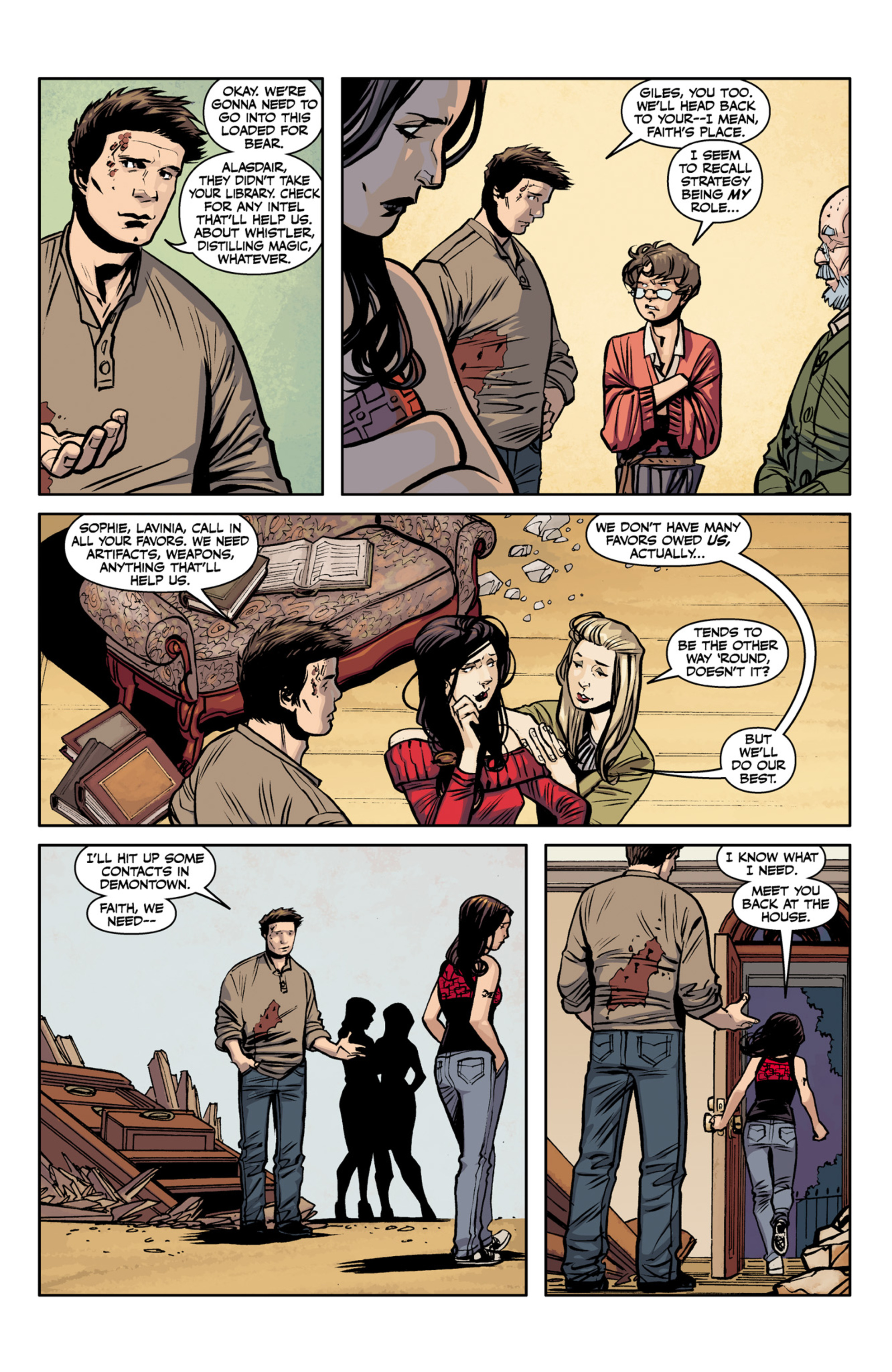 Read online Angel and Faith comic -  Issue #22 - 12