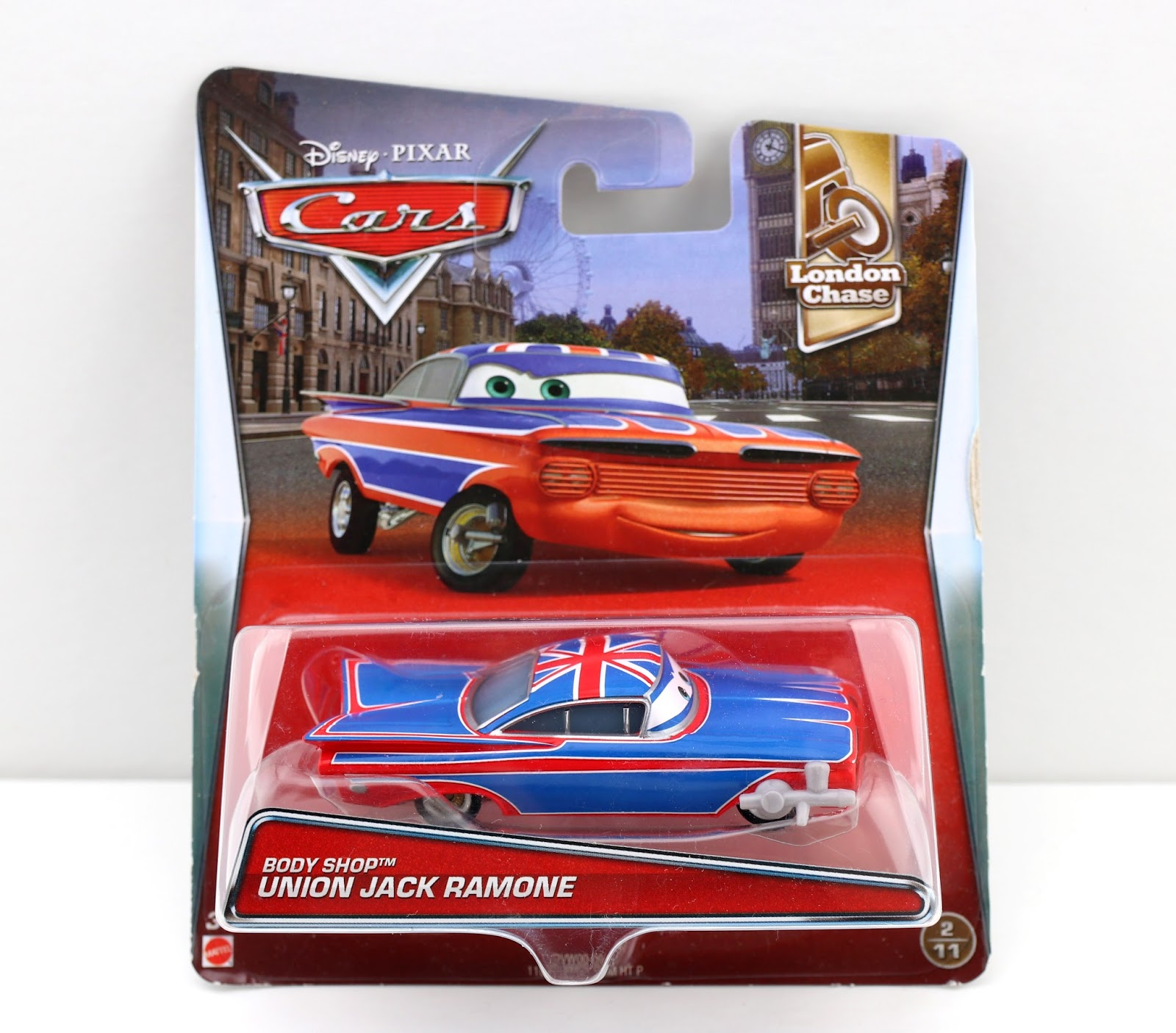 Cars 2 Body Shop Union Jack Ramone