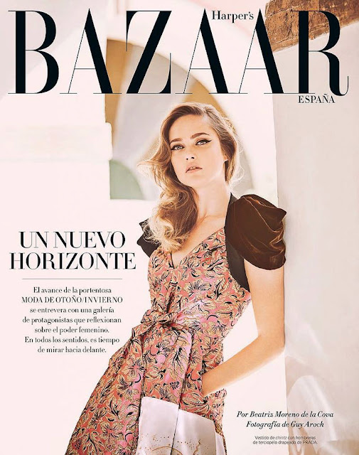 Fashion Model, @ Karmen Pedaru - Harper's Bazaar Spain, August 2016