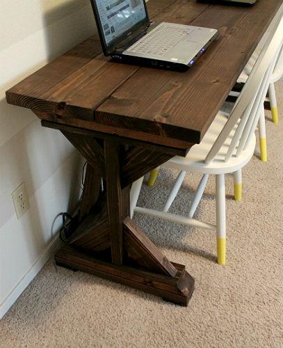 The Junk House: DIY Farmhouse Style Desk