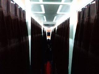 "Mengenal lebih jauh Bis Malam ""Sleeper Bus"" Jakarta-Purbalingga. Hotel Berjalan yang nyaman."