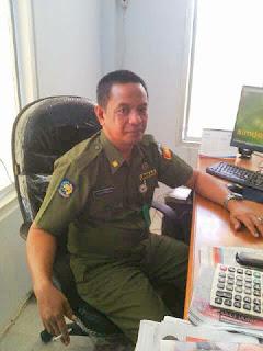 Kepala DPPKAD Boltim, Oscar Manoppo.