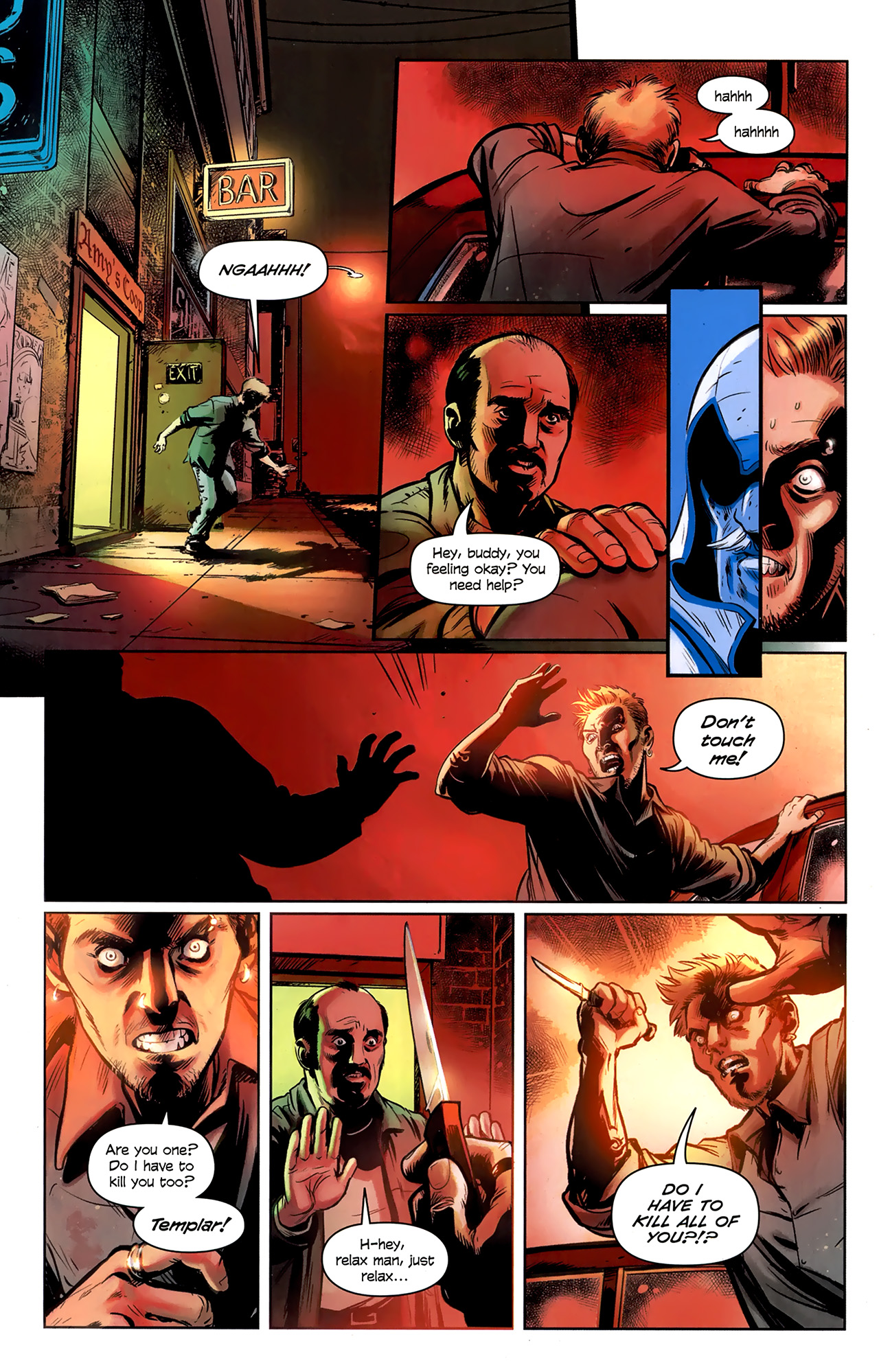 Read online Assassin's Creed: The Fall comic -  Issue #1 - 22