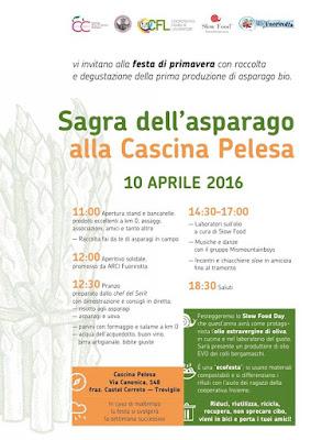 Sagra dell'Asparago 10 Aprile  Castel Cerreto (BG) 2016