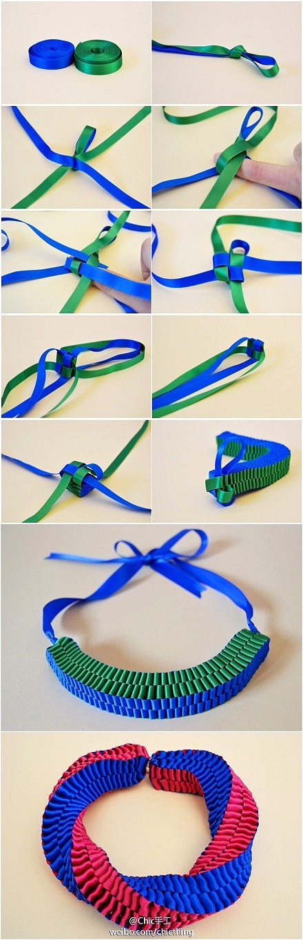 How To Make Square Ribbon Style Bracelet