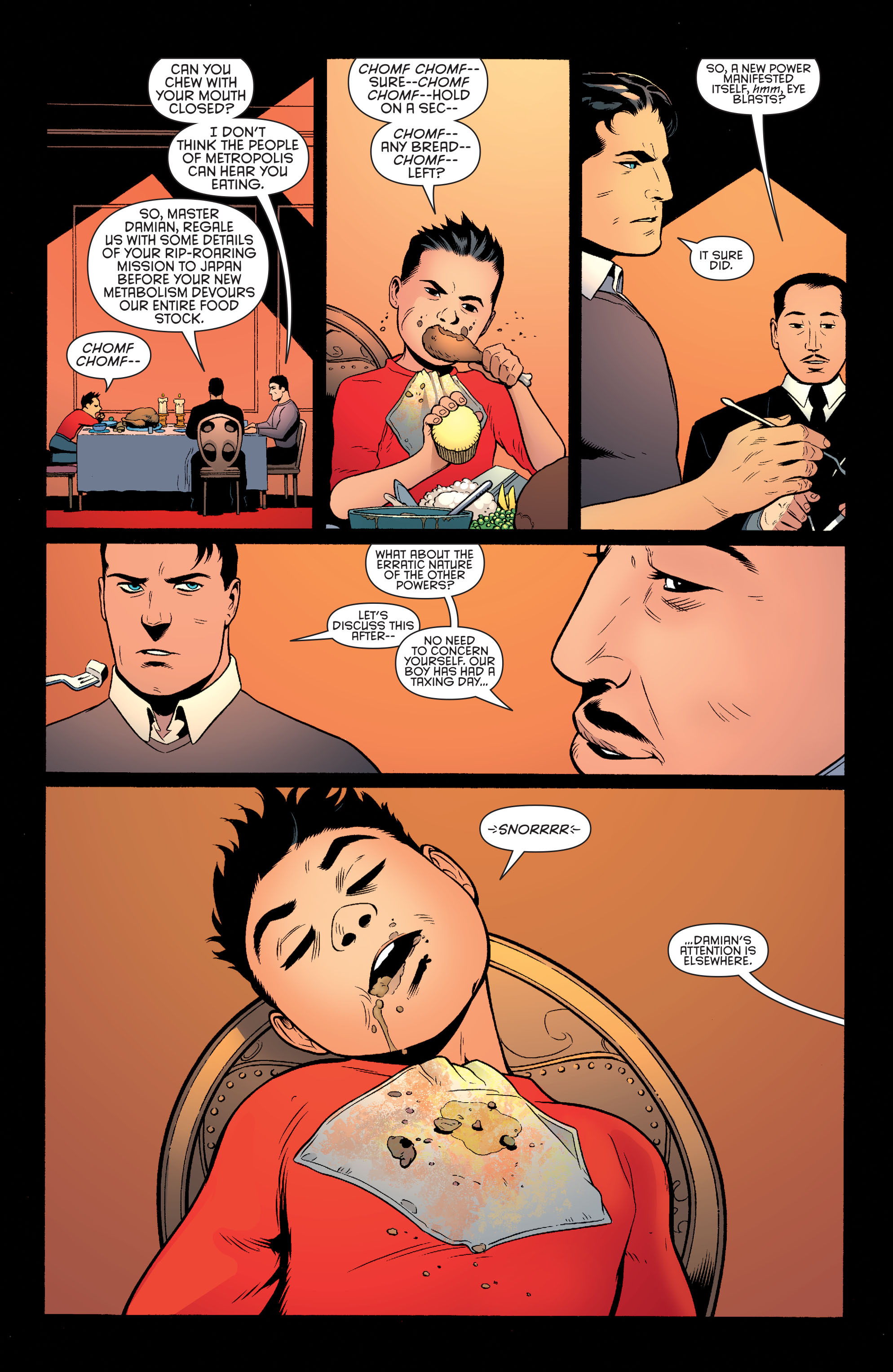 Read online Batman and Robin (2011) comic -  Issue #40 - 9