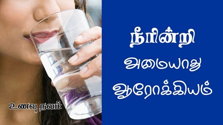 Health Benefits of Water in Tamil