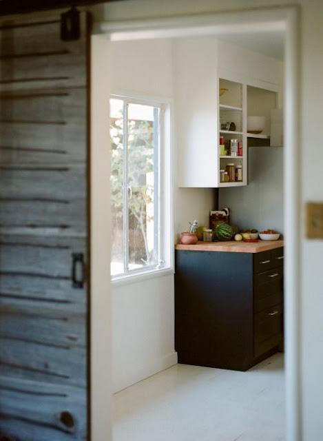 Minimal modern rustic farmhouse kitchen - found on Hello Lovely Studio