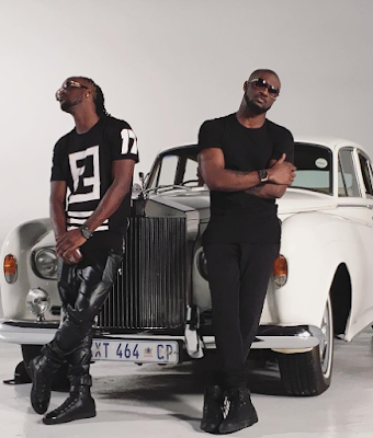BTS photos from PSquare's new video