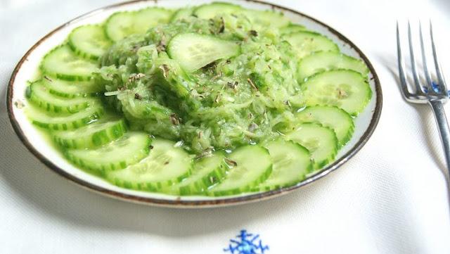 Salade Feggous Marocaine
