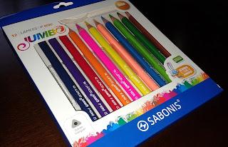 SABONIS Lápiz de color JUMBO