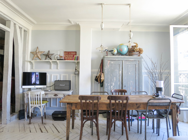 blog deco - appartement haussmannien