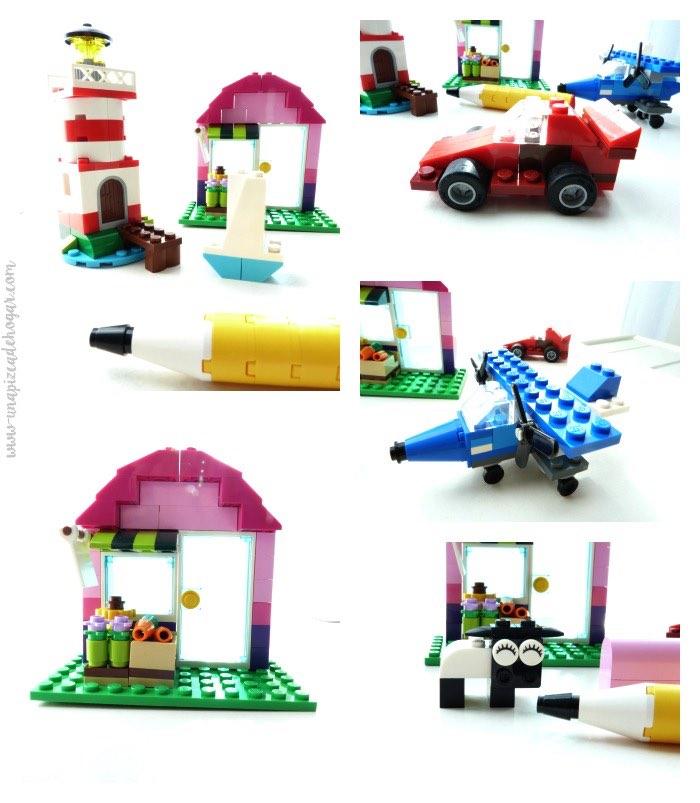 figuras de ejemplo de Lego classic