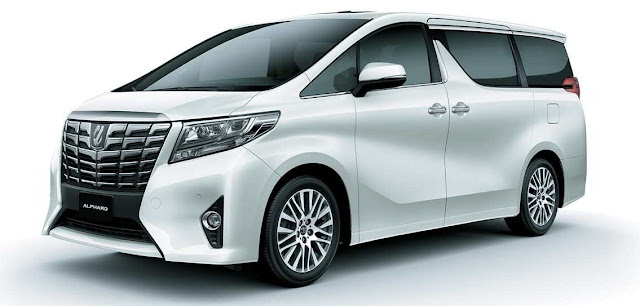 Toyota Alphard Hybrid, mobil hybrid di Indonesia