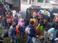Warga Terdampak Letusan Merapi Mulai Tinggalkan  Pengungsian