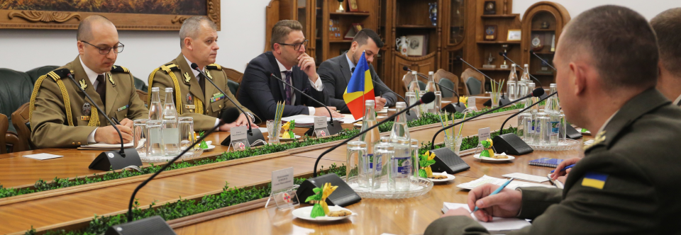 Ukrainian-Romanian defense cooperation was discussed in the MOD