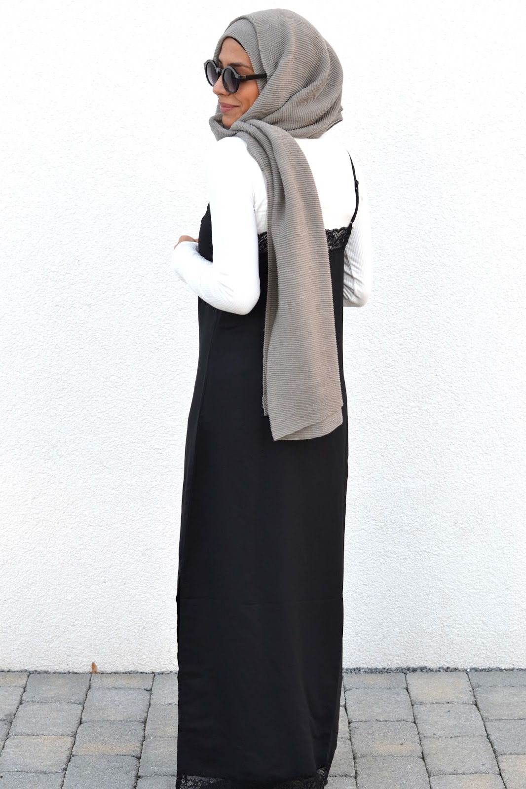 slip dress hijab