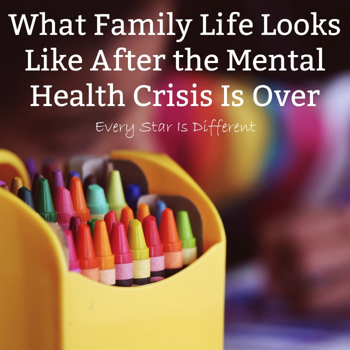 What Family Life Looks Like After a Mental Health Crisis is Over