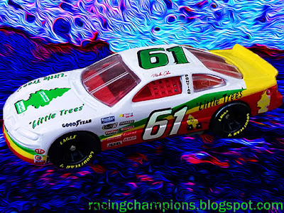 Mike Olsen #61 Little Trees Pontiac Racing Champions 1/64 NASCAR diecast blog BGN Busch 1996 1997