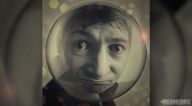 Inside a Bubble - Premium Photo Template
