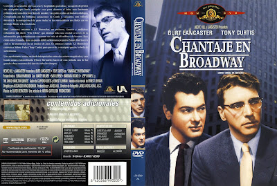 cover, carátula, dvd:  El dulce sabor del éxito (Chantaje en Broadway) | 1957 | Sweet Smell of Success