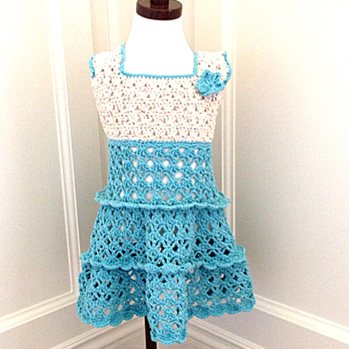 Tddler Summer Vintage Dress - Free Pattern
