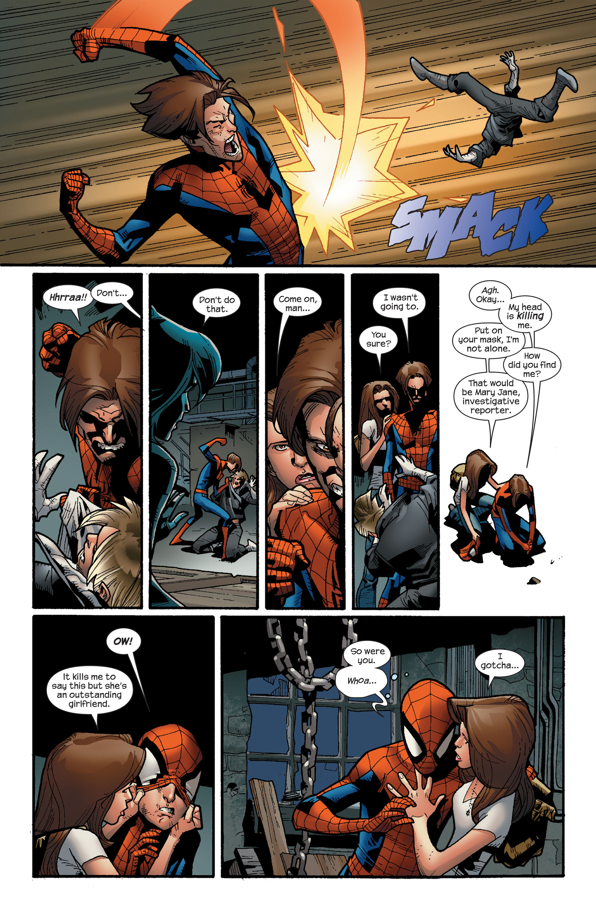 Read online Ultimate Spider-Man (2000) comic -  Issue #122 - 20