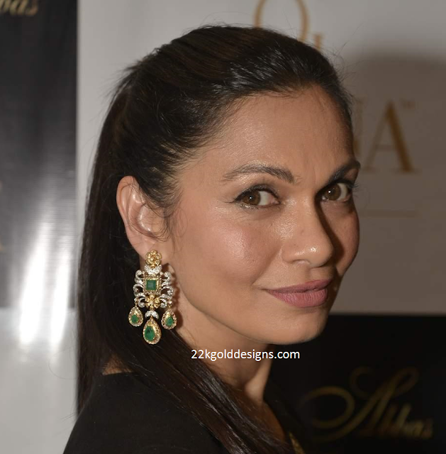 Maria Goretti in Gehna Earrings