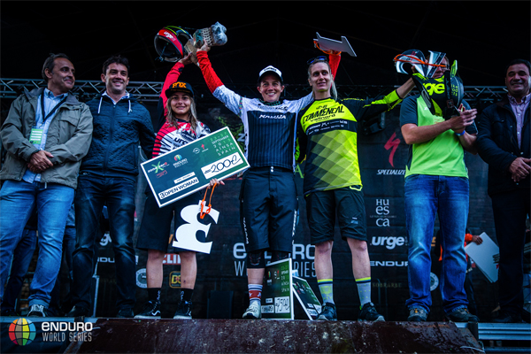 2015 Enduro World Series: Zona Zero, Spain - Results Women's Podium