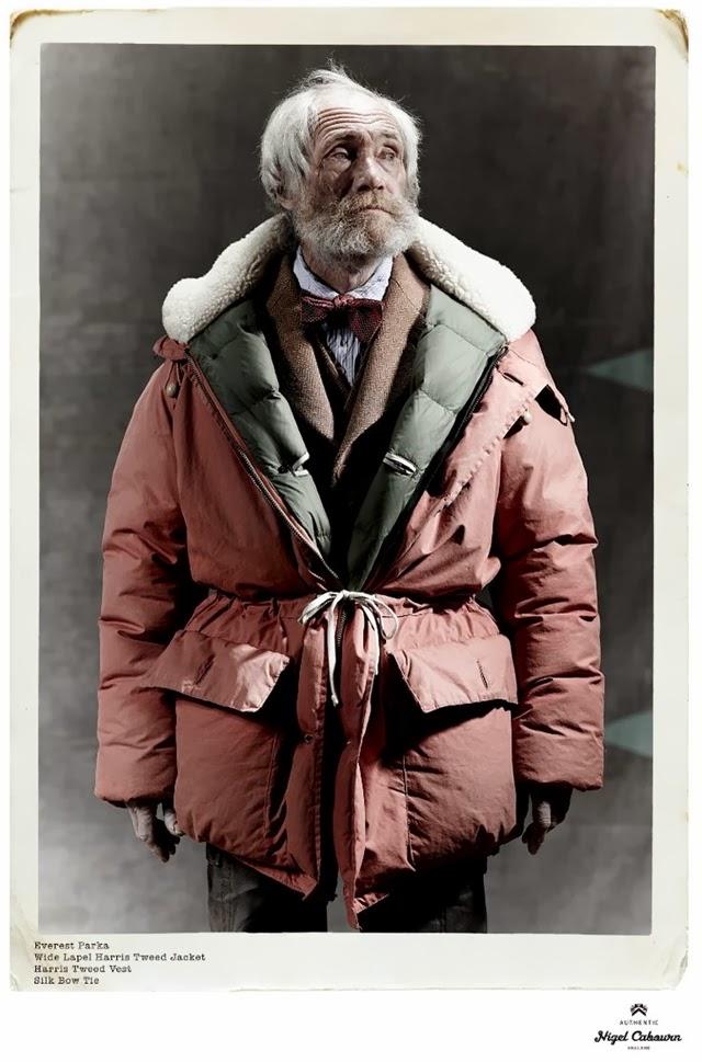 2e6ae2aa7bf3 Grey Fox Models 13 - Nigel Cabourn AW13
