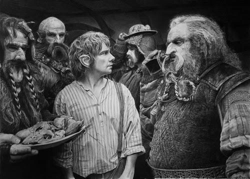 01-The-kHobbit-Bilbo-Baggins-Martin-Freeman-Peter-Jackson-Jrr-Tolkien-Franco-Clooney-Francoclun-www-designstack-co
