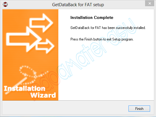 Cara install Get Data Back 6