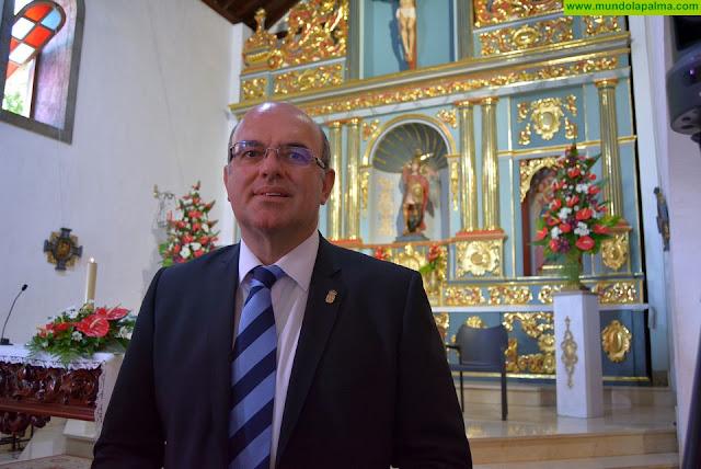 Anselmo Pestana apela a la justicia y al bien común en la ofrenda a San Miguel Arcángel, patrón de la isla de La Palma