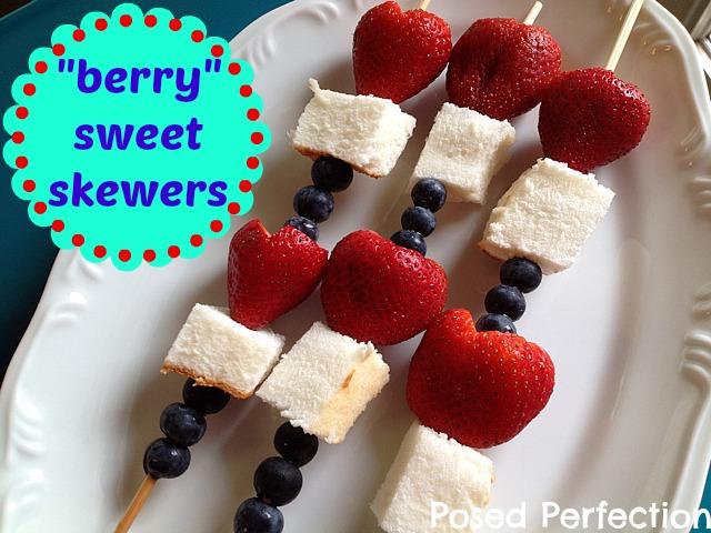 Berry Sweet Skewers