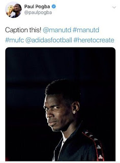 Mourinho Dipecat MU, Paul Pogba Unggah Foto Tersenyum di Twitter