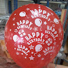 Balon Latex Printing HAPPY BIRTHDAY