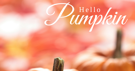 Ma Jolie Spa Celebrates October with Pumpkin!