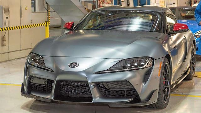 Toyota inicia la producción del Supra