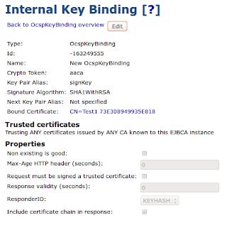 EJBCA - Open Source Enterprise PKI