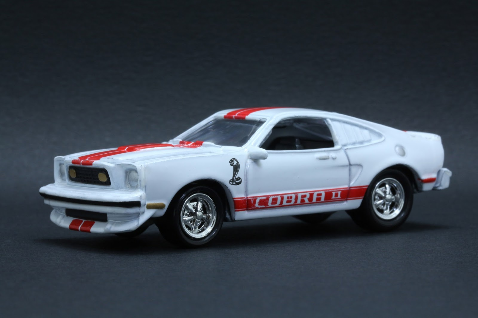 diecast hobbist 1977 ford mustang cobra ii. Black Bedroom Furniture Sets. Home Design Ideas