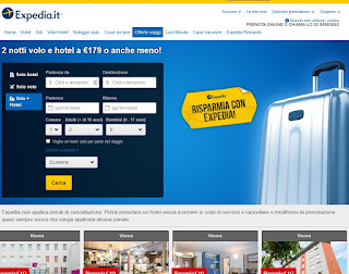 Sito Expedia.it