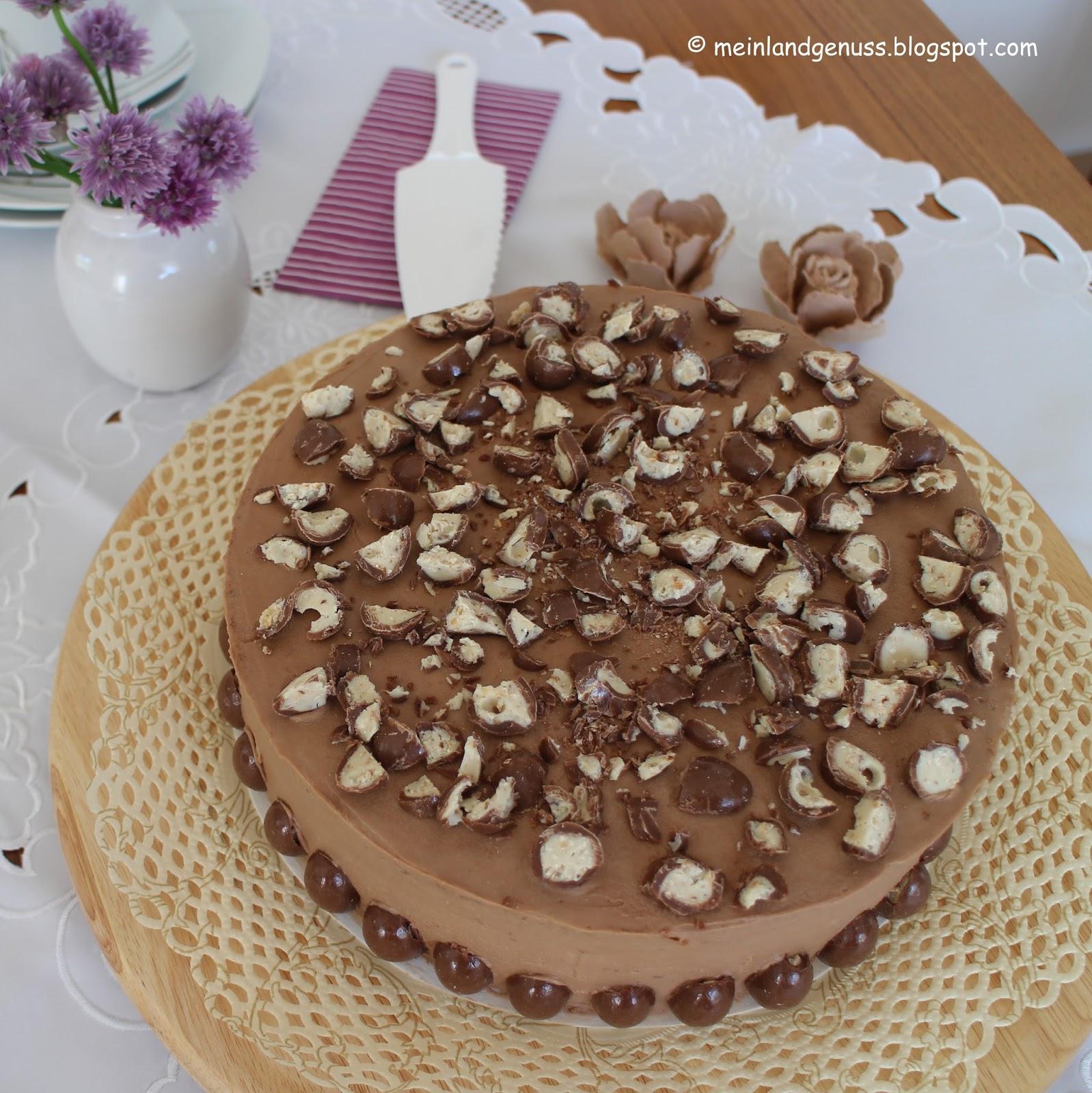 Mein Land Und Gartengenuss Schoko Bons Torte